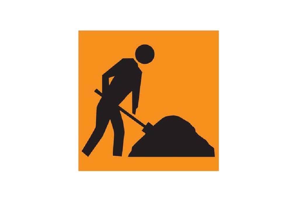 Workman Digging Sign Corflute Pictogram 600x600 TC31-1