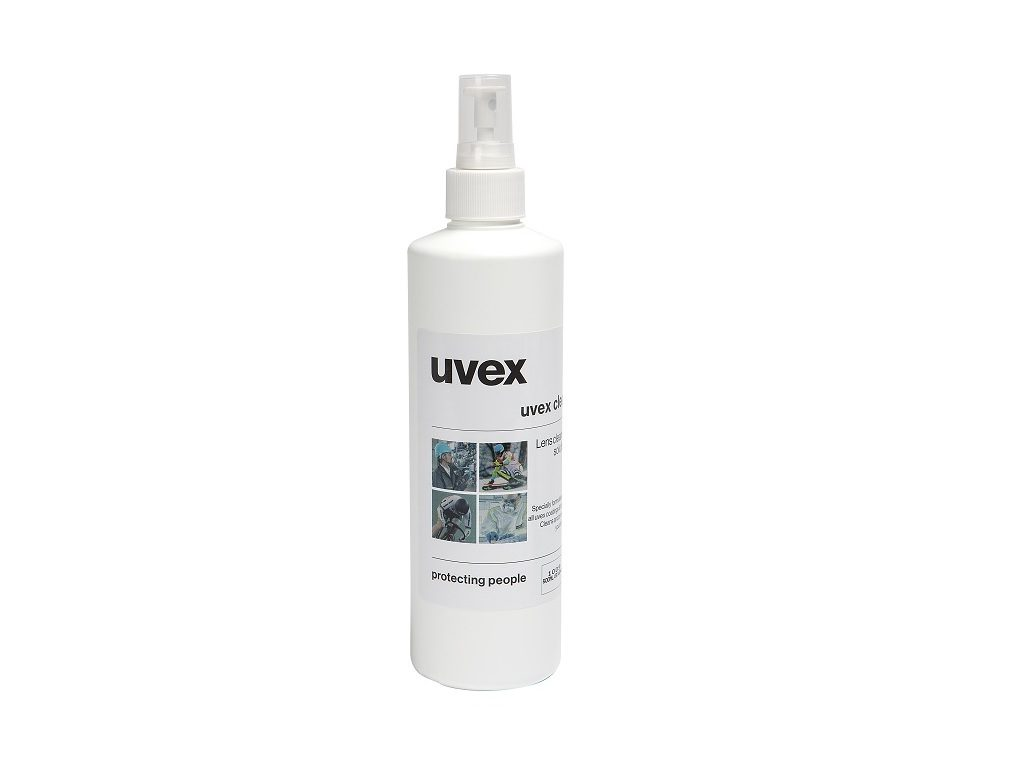 Uvex Lens Cleaning Solution 500ml Pump Bottle 1009