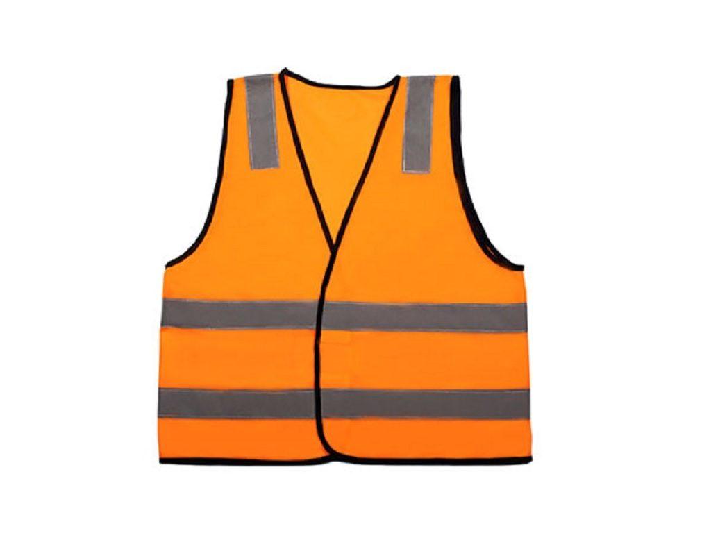 Rail Vest Special Purpose Orange With Reflective Tape
