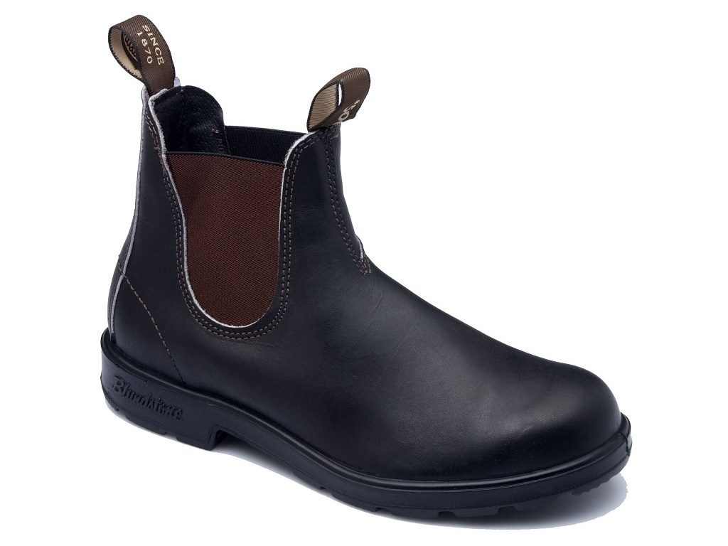 Blundstone Non Safety STOUT BROWN Elastic Sided Boot B500