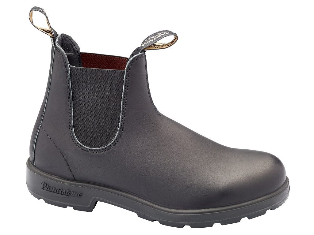 Blundstone Elastic Sided Boot NON Safety BLACK B510
