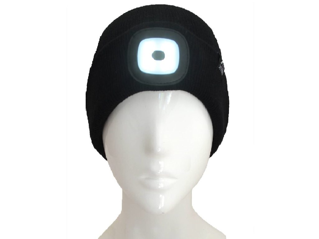 Black Blinder LED Beanie HU042