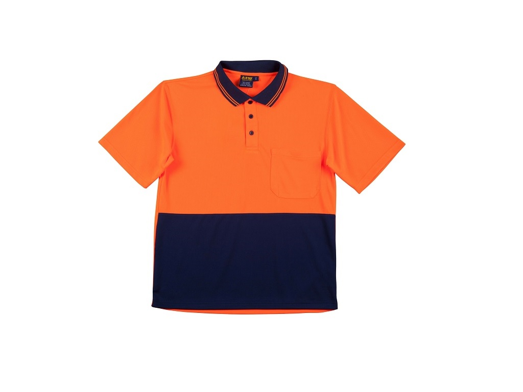 COOLDRY SHORT SLEEVE HI VISIBILITY POLO