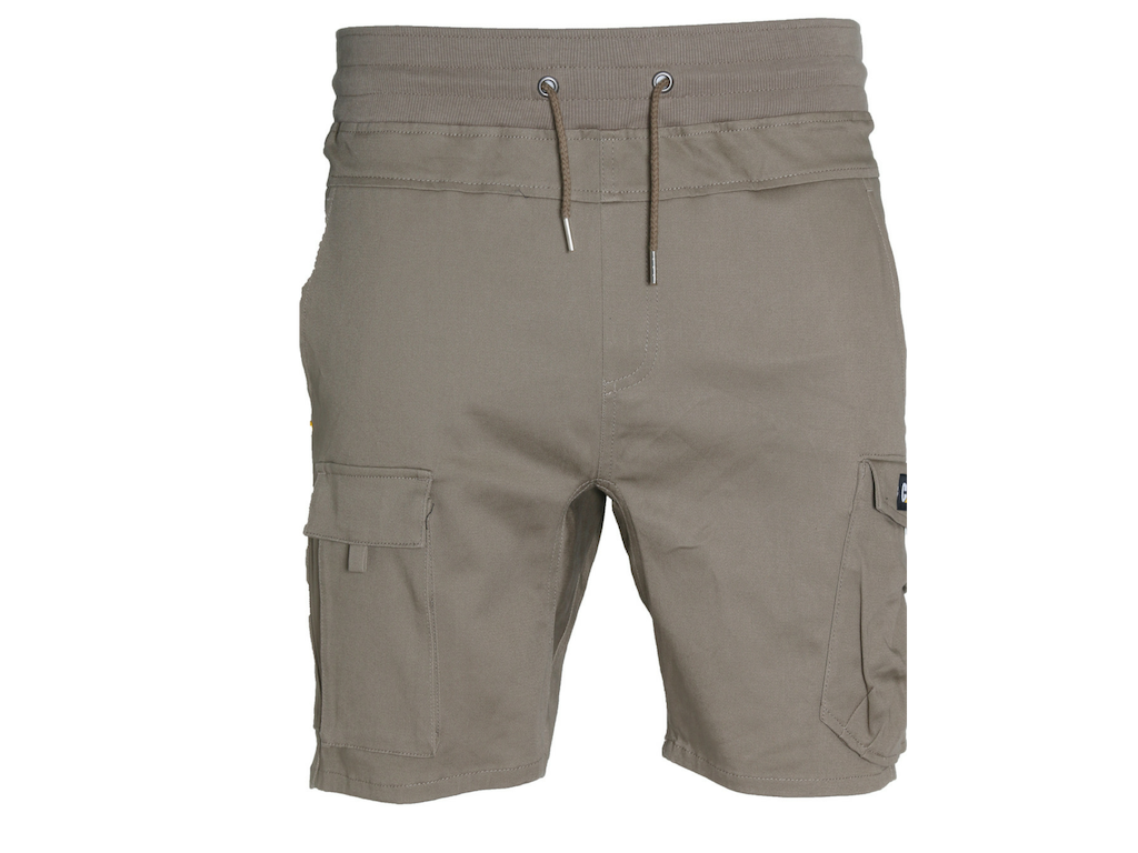 cat shorts khaki 18200009